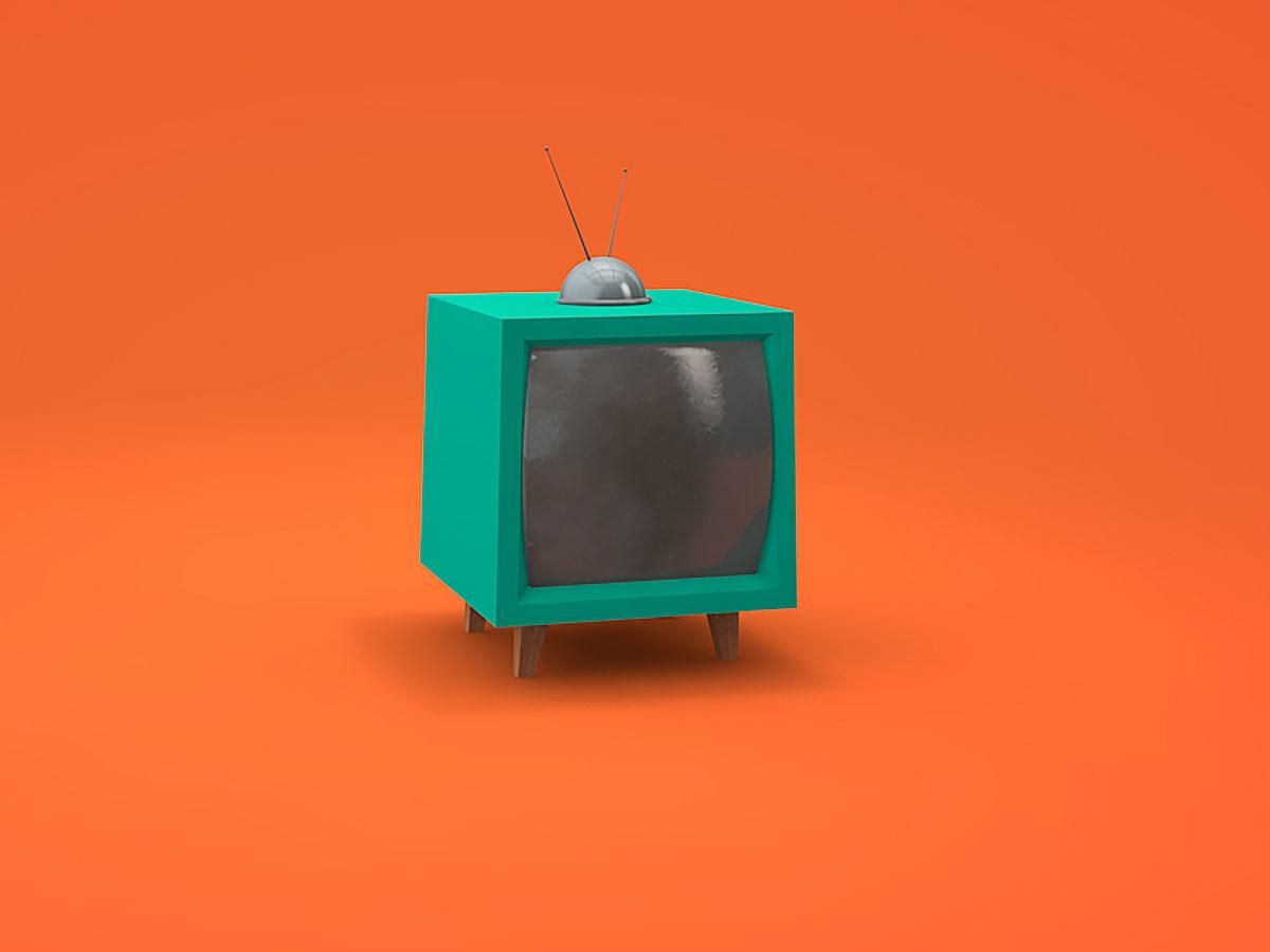 Retro Television set ©Marko Nakić